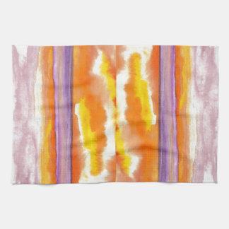 Cosmic Seaside Sunset Sunrise Beach Painting Art Towels