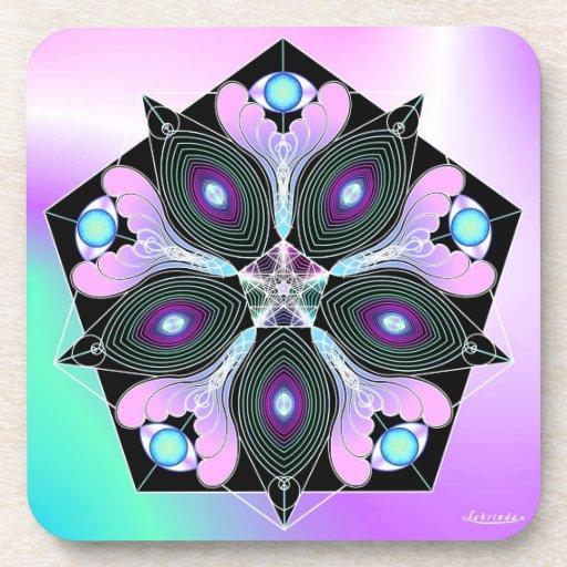 Cosmic Seed Coasters
