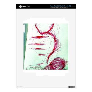 Cosmic Serpent Dance iPad 3 Decals