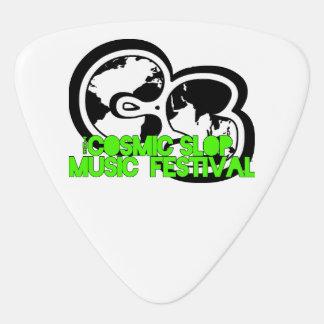 Cosmic Slop Music Fest Guitar Pick