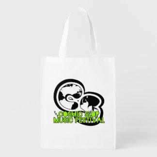 Cosmic Slop Music Festival Reusable Bag