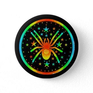 Cosmic Spider Button button