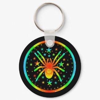 Cosmic Spider Keychain keychain