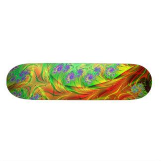 """""""Cosmic Spin"""" Fractal Art Custom Skateboard"""