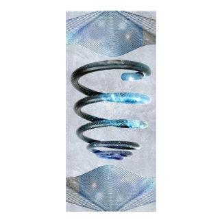 Cosmic Spiral Custom Rack Card