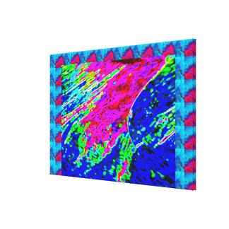 COSMIC Splash and Sparkles Canvas Print