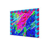 COSMIC Splash and Sparkles Stretched Canvas Print