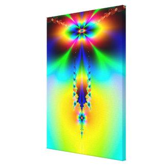 Cosmic Stalactite Canvas Print