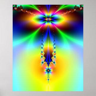 Cosmic Stalactite Poster