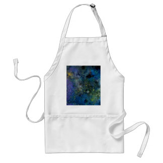 Cosmic starry sky - orion or milky way cosmos adult apron