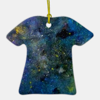 Cosmic starry sky - orion or milky way cosmos christmas tree ornaments