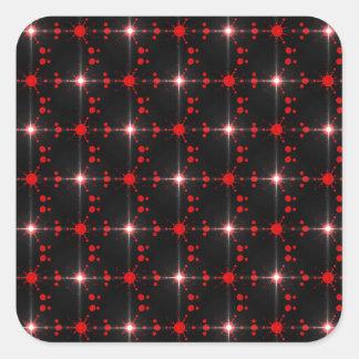 Cosmic Stars Square Sticker