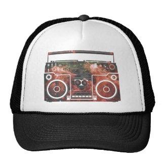 Cosmic Stereo Mesh Hat