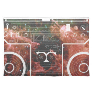 Cosmic Stereo Place Mats