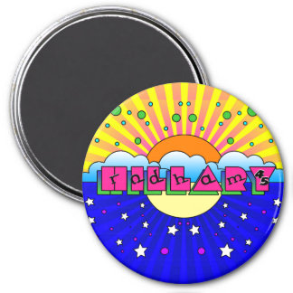Cosmic Style Hillary Campaign Poster Magnet