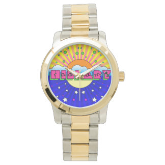 Cosmic Style Hillary Campaign Poster Wrist Watch