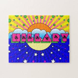 Cosmic Style Hillary Celebration Poster Puzzle