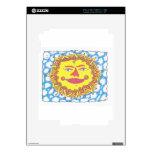 COSMIC SUN by Ruth I. Rubin iPad 2 Decals