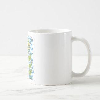 COSMIC SUNFLOWER by Ruth I. Rubin Coffee Mug