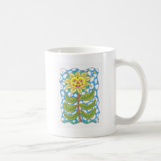 COSMIC SUNFLOWER by Ruth I. Rubin Coffee Mugs