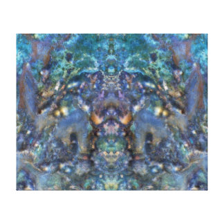 Cosmic Superhero Canvas Print
