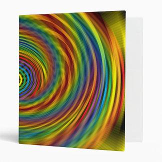 Cosmic Swirl 3 Ring Binder