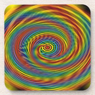 Cosmic Swirl Coasters