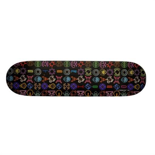 Cosmic  Symbols skateboard