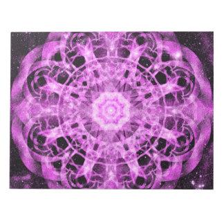 Cosmic Symmetry Mandala Notepad