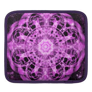 Cosmic Symmetry Mandala Sleeve For iPads