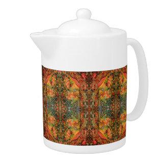 Cosmic Taste of Healing Fine Art Tea Pot Deprise