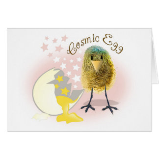 Cosmic thoughts of you.... card