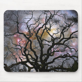 Cosmic Tree - Colliding Galaxies Mouse Pad