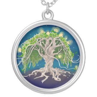 Cosmic Tree Necklace