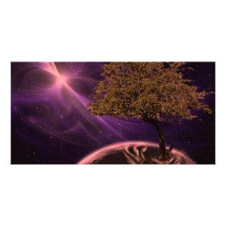 Cosmic Tree of Life Card