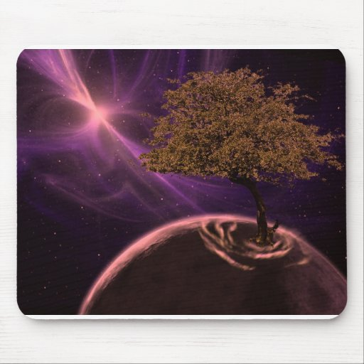 Cosmic Tree of Life Mouse Pad