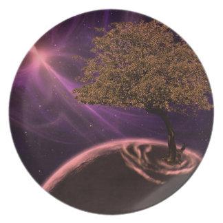 Cosmic Tree Of Life Plates
