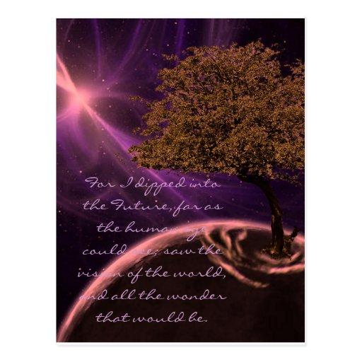Cosmic Tree of Life Postcards