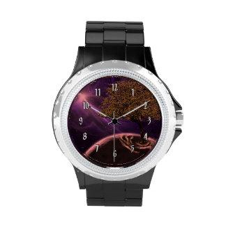 Cosmic Tree Of Life Wrist Watch