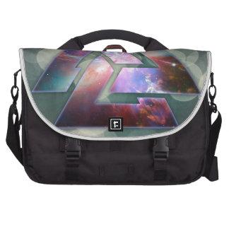 Cosmic Triple Knot Commuter Bags