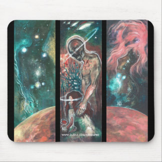 COSMIC TRIPTYCH MOUSE PADS