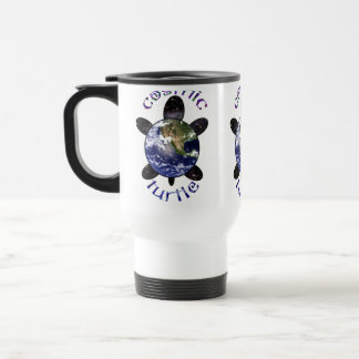 Cosmic Turtle Travel Mugs