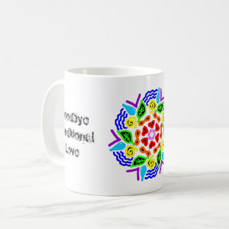 """""""Cosmic Unconditional Love Starts from Within"""" Mug"""