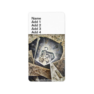 Cosmic Unconsious Address Label