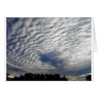 Cosmic Vortex Clouds Greeting Cards