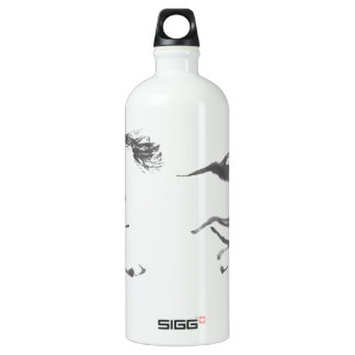 Cosmic Wanderer, Sumi-e Year of the Horse Water Bottle