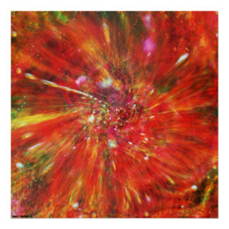 Cosmic Warp Poster