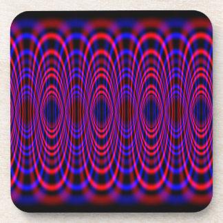 Cosmic Wave Drink Coaster