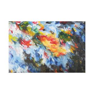 Cosmic Waves Canvas Print