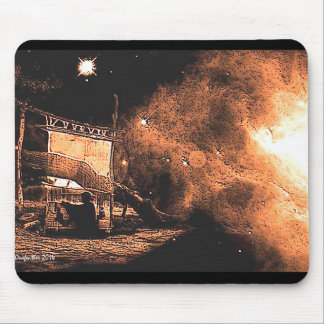 Cosmic Weaver Mouse Pad